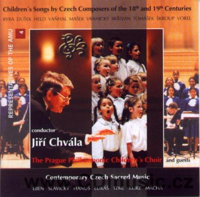 CHILDREN'S SONGS BY CZECH COMPOSERS OF THE 18-20th CENT. (RYBA, DUŠEK, HELD, VAŇHAL, VRANI