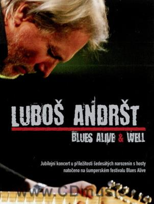 Andršt L. - Blues Alive + Well - Live Concert Without subtitles. Regon: All (PAL)