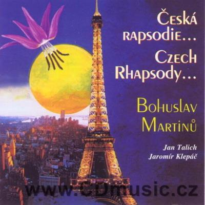 MARTINŮ B. CZECH RHAPSODY FOR VIOLIN AND PIANO, THE FIVE MADRIGAL STANZAS, RHYTMIC ETUDES