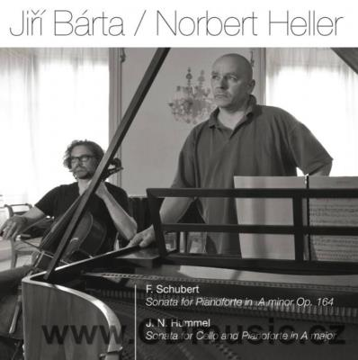SCHUBERT F., HUMMEL J.N. SONATAS FOR CELLO AND PIANOFORTE / N.Heller, J.Bárta