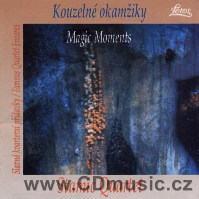MAGIC MOMENTS - FAMOUS CONCERT ENCORES (HAYDN, TCHAIKOVSKY, MOZART, DVOŘÁK, SCHUBERT, MART