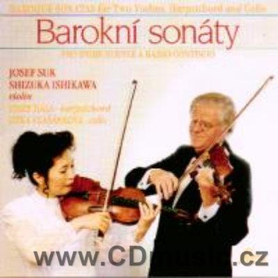 BAROQUE SONATAS FOR TWO VIOLINS, HARPSICHORD AND CELLO (TARTINI, LOCATELLI, BENDA) / J.Suk