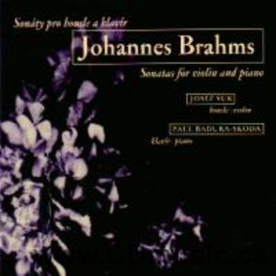 BRAHMS J. SONATAS FOR VIOLIN AND PIANO Op.78, Op.100, Op.108 / J.Suk violin, P.Badura-Skod