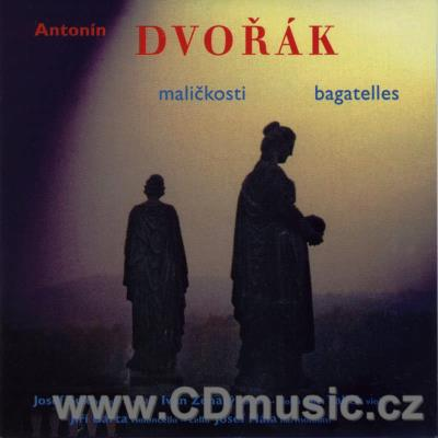 DVOŘÁK A. MINIATURES FOR 2 VIOLINS AND VIOLA, BAGATELLES, TERZETTO / J.Suk, I.Ženatý...