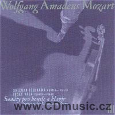 MOZART W.A. SONATAS FOR VIOLIN AND PIANO Vol.3 / S.Ishikawa violin, J.Hála piano