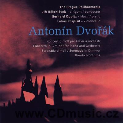 DVOŘÁK A. CONCERTO IN G MINOR FOR PIANO AND ORCHESTRA Op.33, SERENADE IN D MINOR Op.44, RO