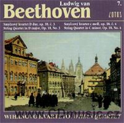 BEETHOVEN L.v. STRING QUARTET Op.18 No.3, STRING QUARTET Op.18 No.4 / Wihan Quartet