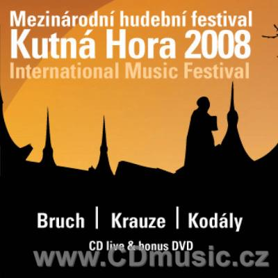 BRUCH M. STRING OCTET (publ.1996), KRAUZE Z. QUARTET, KODÁLY Z. DUO FOR VIOLIN AND CELLO /