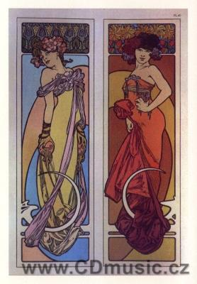Mucha - postcard Documents Decoratifs, 1902