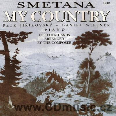 SMETANA B. MY COUNTRY - for piano for four hands / P.Jiříkovský, D.Wiesner piano