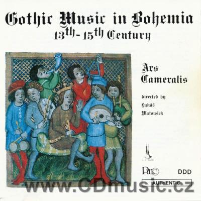 Gothic Music in Bohemia - 13th-15th Century / Z.Matoušková - ms, R.Sporka - t,ct / histori