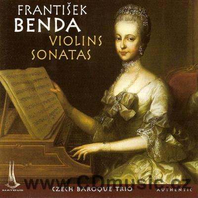 BENDA F. (1709-1786) SONATAS FOR VIOLIN AND BASSO CONTINUO [L.III-127,130,63,59,66,25] / C