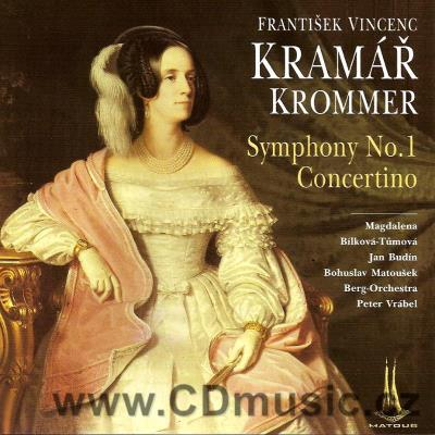 KROMMER-KRAMÁŘ F.V. (1759-1831) CONCERTINO FOR FLUTE, CLARINET, VIOLIN AND CHAMBER ORCHEST