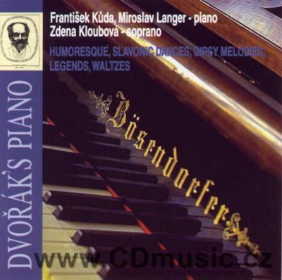 DVOŘÁK A. HUMORESQUE, SELECTION FROM SLAVONIC DANCES, GYPSY MELODIES, LEGENDS, WALTZES...