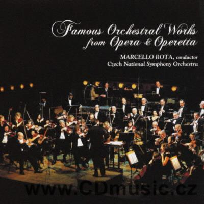 FAMOUS ORCHESTRAL WORKS FROM OPERA AND OPERETTA / CNSO / M.Rota