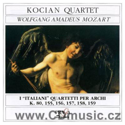 MOZART W.A. EARLY STRING QUARTETS / Kocian Quartet