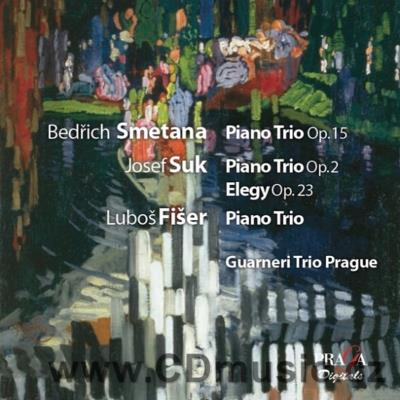 SMETANA B. PIANO TRIO Op.15, SUK J. PIANO TRIO Op.2, FIŠER L. TRIO / Guarneri Trio Prague