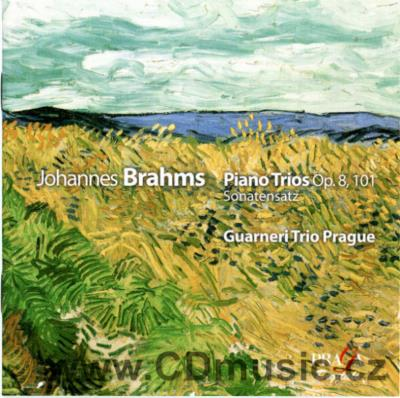 BRAHMS J. PIANO TRIOS Op.8, Op.101, SONATENSATZ IN C MINOR / Guarneri Trio Prague (I.Kláns