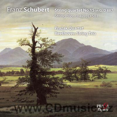 SCHUBERT F. STRING QUARTET, STRING TRIOS / Pražák Quartet, Beethoven String Trio