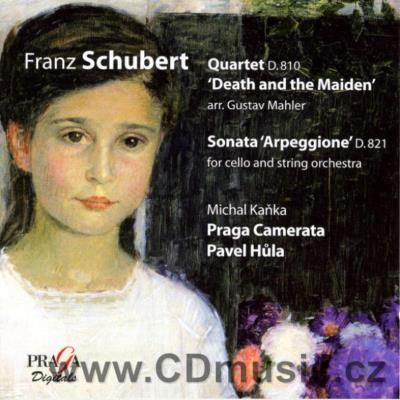 "SCHUBERT F. STRING QUARTET ""DEATH AND THE MAIDEN"", ARPEGGIONE SONATA FOR CELLO AND STRING"