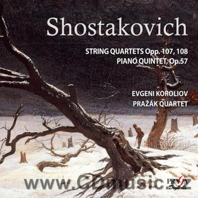 SHOSTAKOVICH D. STRING QUARTET IN C MIN No.8 Op.110, STRING QUARTET IN F SHARP MIN No.7 Op