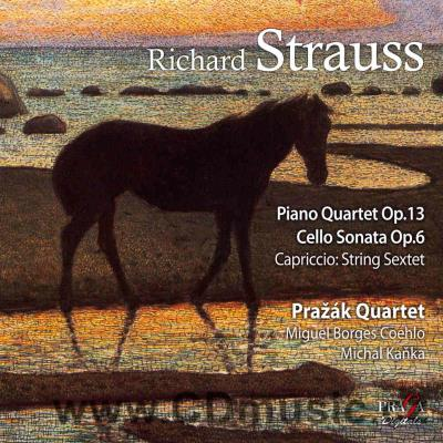 STRAUSS R. (1864-1949) PIANO QUARTET IN C MIN Op.13, CELLO SONATA IN F Op.6, CAPRICCIO - I