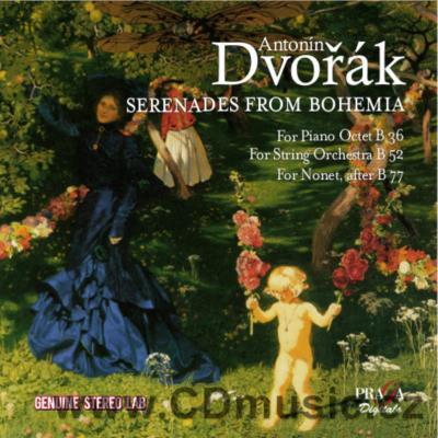 DVOŘÁK A. SERENADES FROM BOHEMIA / Czech Nonet, Academy in the Feelds, I.Klánský, P.Hůla