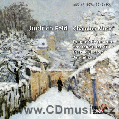 FELD J. STRING QUARTETS Nos.5,6, STRING QUINTET/ Prague City Quartet, Smetana Quartet...