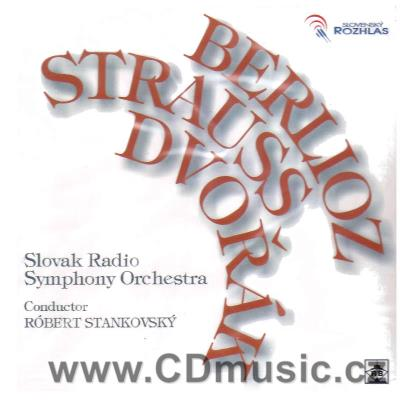 DVOŘÁK A. SYMPHONY No.7, BERLIOZ H. OVERTURE LA CARNIVAL ROMAIN, STRAUSS R. DEATH AND...
