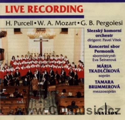 PURCELL H. AMPHITRYON, MOZART W.A. ADAGIO AND FUGUE KV546, PERGOLESI G.B. STABAT MATER / M