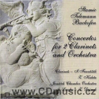 STAMITZ C. CONCERTO No.4 FOR 2CLARINETS AND ORCHESTRA, TELEMANN G.P. CONCERTO FOR 2CLARINE