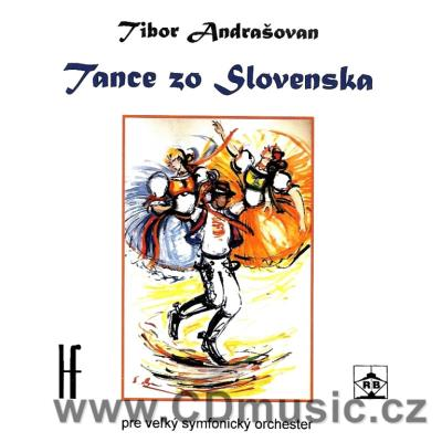 ANDRAŠOVAN T. (1917-2001) DANCES FROM SLOVAKIA FOR LARGE ORCHESTRA / SRSO / R.Stankovský