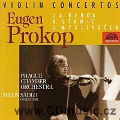 STAMIC K. CONCERTO FOR VIOLIN AND ORCHESTRA No.4, MYSLIVEČEK J. CONCERTO FOR VIOLI