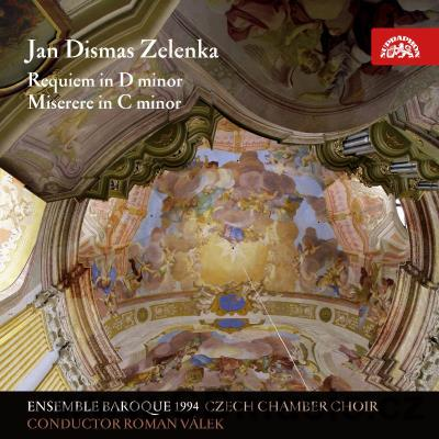 ZELENKA J.D. REQUIEM IN D MINOR, MISERERE / Ensemble Baroque 1994, Czech Chamber Choir