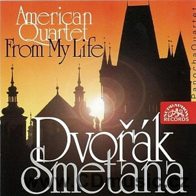 DVOŘÁK A. STRING QUARTET No.12 Op.96 AMERICAN, SMETANA B. STRING QUARTET No.1 FROM MY LIFE