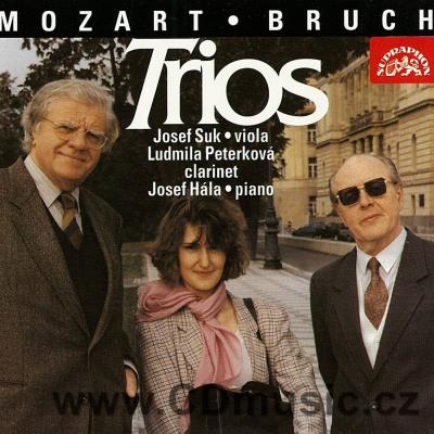 BRUCH M. TRIO FOR CLARINET, VIOLA AND PIANO Op.83, MOZART W.A. TRIO FOR CLARINET, VIOLA AN