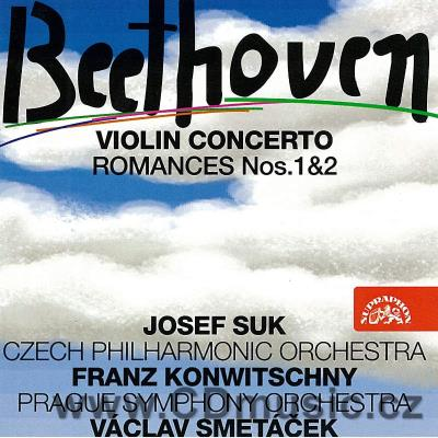 BEETHOVEN L.v. CONCERTO FOR VIOLIN AND ORCHESTRA Op.61, ROMANCES Nos.1,2 Op.40, Op.50 / J.