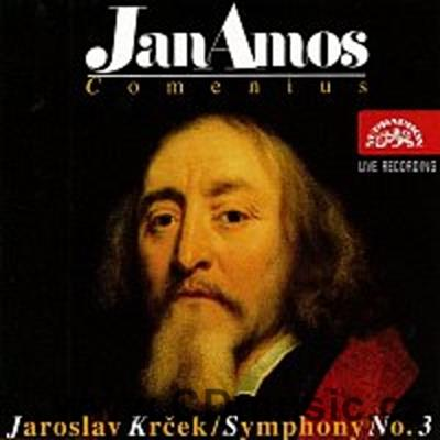 "KRČEK J. SYMPHONY No.3 FOR ORCHESTRA, CHORUS AND NARRATOR ""Jan Amos Comenius"" / R.Lukavský"
