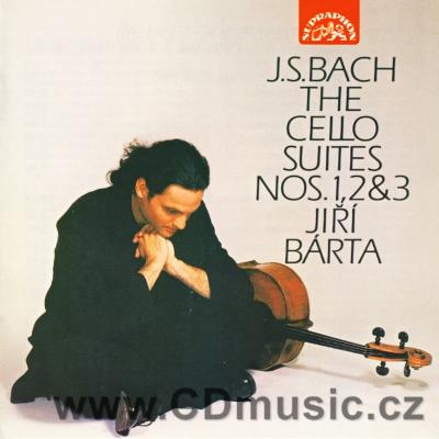 BACH J.S. SUITES FOR SOLO CELLO Nos.1,2,3 / J.Bárta cello