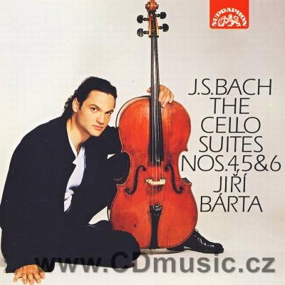 BACH J.S. SUITES FOR SOLO CELLO Nos.4,5,6 / J.Bárta cello