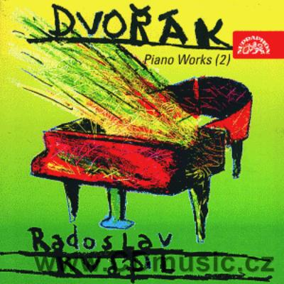 DVOŘÁK A. PIANO WORKS II. (WALTZES, ECLOGUES, PIANO PIECES, ALBUM) / R.Kvapil piano
