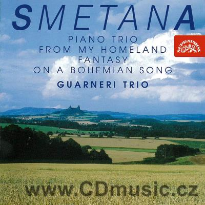 SMETANA B. PIANO TRIO Op.15, FANTASY ON A BOHEMIAN SONG FOR VIOLIN AND PIANO, FROM MY HOM