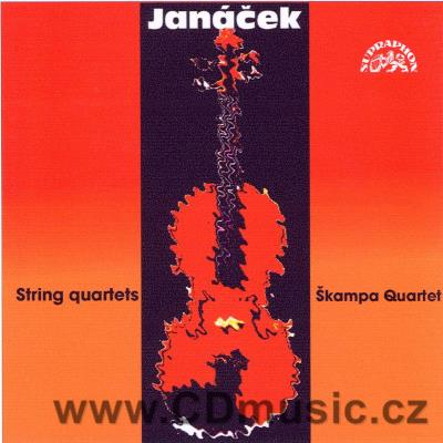 JANÁČEK L. STRING QUARTETS No.1 INSPIRED BY TOLSTOY'S KREUTZER SONATA, No.2 INTIMATE LETT