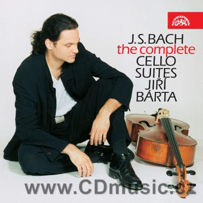 BACH J.S. SUITES FOR SOLO CELLO Nos.1-6 BWV 1007-12 / J.Bárta cello