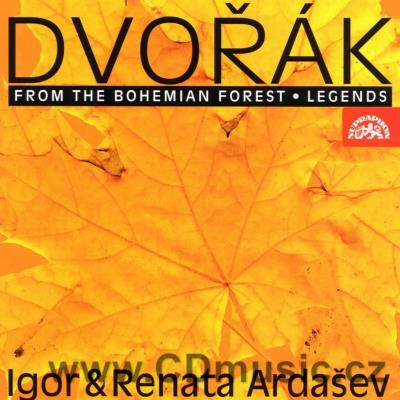 DVOŘÁK A. COMPOSITIONS FOR PIANO DUET - FROM THE BOHEMIAN FOREST - CHARACTERISTIC PIECES O