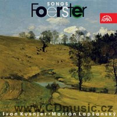 FOERSTER J.B. (1859-1951) SIX SONGS Op.161, FAIRY-TALE A LONG CRAVING Op.101, THREE SONGS