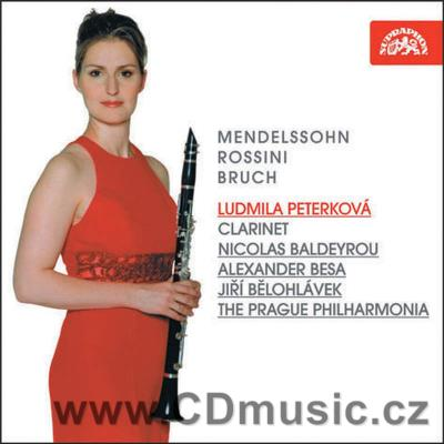 WORKS FOR CLARINET, BASSET HORN, VIOLA AND ORCHESTRA (MENDELSSOHN-BARTHOLDY F., ROSSINI G.