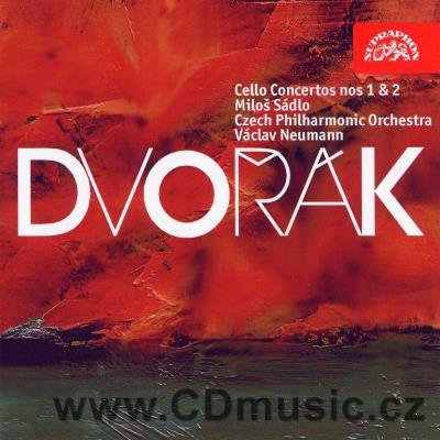 DVOŘÁK A. CONCERTOS FOR CELLO AND ORCHESTRA Nos.1,2 / M.Sádlo cello, CPO / V.Neumann