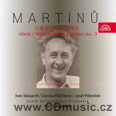 MARTINŮ B. CONCERTO FOR OBOE AND SMALL ORCHESTRA H. 353, CONCERTO FOR HARPSICHORD AND SMAL