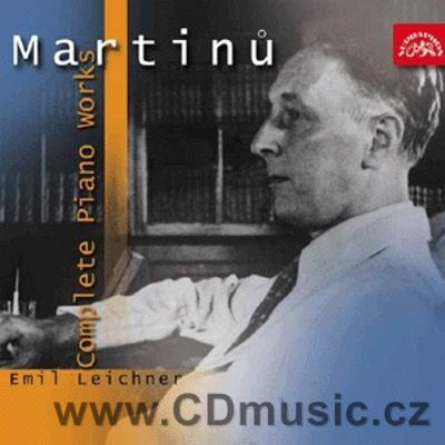 MARTINŮ B. COMPLETE PIANO WORKS / E.Leichner piano (3CD)
